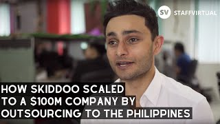 How Skiddoo Scaled to a $100 Million Company Outsourcing BPO to StaffVirtual