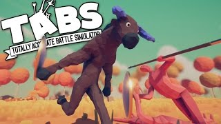 TABS - Minotaur and Mammoth Armies! - Fantasy Faction Reveal? - Totally Accurate Battle Simulator