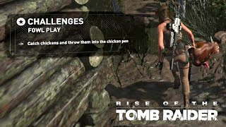 Rise of the Tomb Raider · Fowl Play Challenge Walkthrough Video Guide