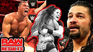 Roman Gets The Last Word! WWE Raw Review & Results 9/18/17 (Going in Raw Wrestling Podcast Ep. 288)