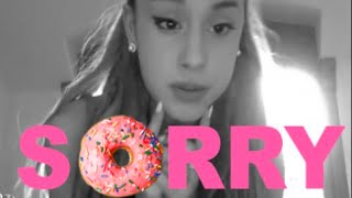 Ariana Grande is a donut-eating FLAKE!