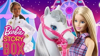 Barbie Horse is Missing. Can Barbie and the Beekeeper Find Her? | Barbie