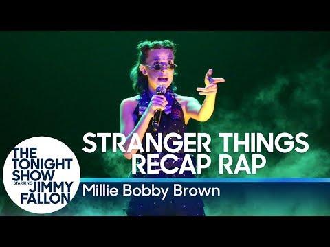 Xxx Mp4 Millie Bobby Brown Raps A Stranger Things Season 1 Recap 3gp Sex