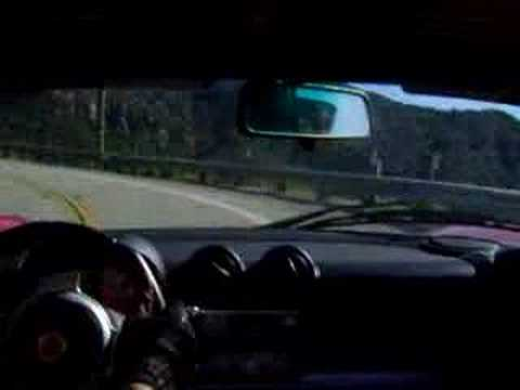 Lotus Elise drive on the Canyons