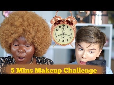 Xxx Mp4 5 Minutes Makeup Challenge W A 13 Years Old 😲 Shalom Blac 3gp Sex