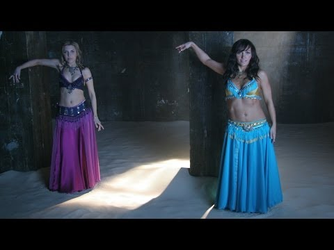 Shimmy Belly Dance Lesson EPISODE 3 - SHARP AND SEXY WITH A SHIMMY: Preview