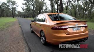2015 Ford Falcon XR8 FG X 0-100km/h & engine sound