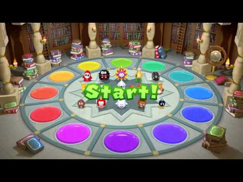 Mario Party 10 All Free For All 4 player Mini Games