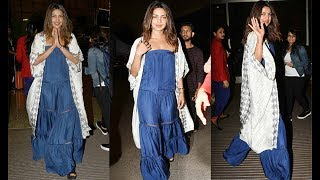 Priyanka Chopra's subtle yet stylish airport look proves she can pull off everything with swag
