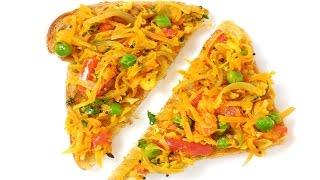 Masala Open Sandwich