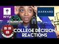 Download Video Download COLLEGE DECISION REACTION 2018 (NYU, Harvard, Spelman and more) 3GP MP4 FLV