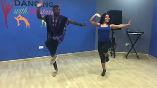 Nigar and Thibaut Azerbaijan dance.Dubai