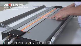 AECFUN Acrylic bending machine/ bend PC/PET/PP/ABS/PE Board