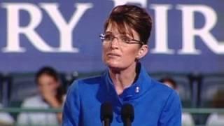 Sarah Palin Attacks Obama