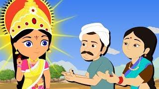 The Three Wishes | Moodu Varalu | Telugu Children Stories | నీతి కధలు