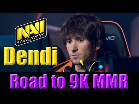 Navi Dendi || Road to 9K || Ranked Match || Dota 2 LIVE || PRO GamePlay