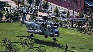 USMC Aircraft Land In Downtown Nashville