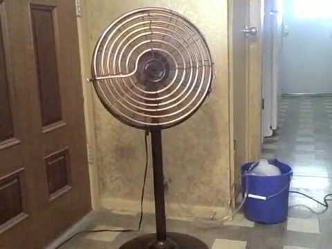 Homemade Air Conditioner simple DIY AC uses 45 Watts can be solar powered