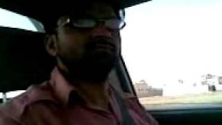 Bhagwal awan(luqman on driving).3gp