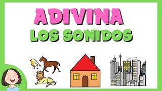 Jugamos a Adivinar los Sonidos de los Animales, la Casa y la Ciudad_Discriminación auditiva
