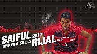 Sepak Takraw ● Saiful Rijal ● Spikes & Skills   2017   HD