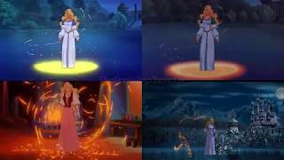 The Swan Princess - All the transformations