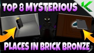 TOP 8 MYSTERIOUS PLACES IN BRICK BRONZE! - Pokemon Brick Bronze