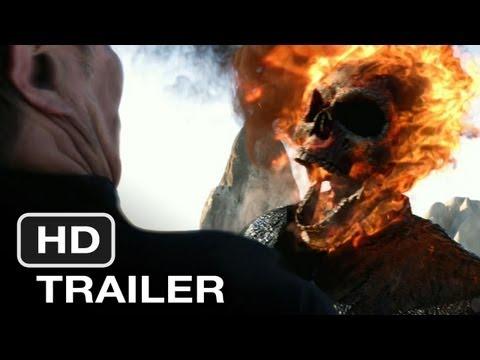 Ghost Rider Spirit of Vengeance 2012 Trailer HD movie