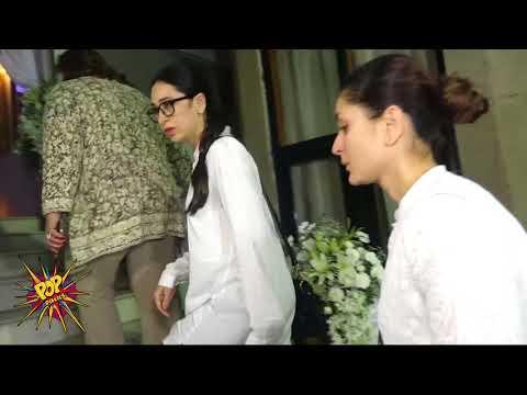Xxx Mp4 Emotional Kareena Kapoor Khan With Sister Karisma Kapoor At Rani Mukerji S Father S Prayer Meet 3gp Sex