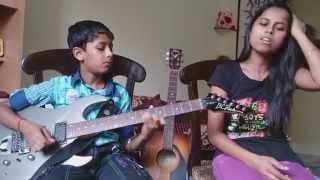 galliyaan unplugged full song guitar cover by rio and sung by sonika