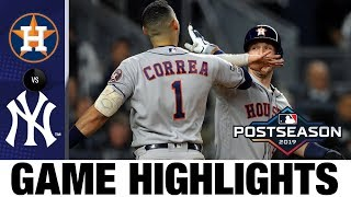 George Springer, Carlos Correa power Astros to ALCS Game 4 win   Astros-Yankees MLB Highlights