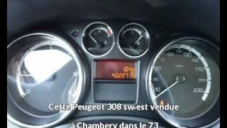 Peugeot 308 sw occasion visible à Chambery présentée par Peugeot chambery