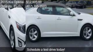 2015 Kia Optima LX 4dr Sedan for sale in Orlando, FL 32807 a