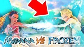 ¿La Princesa MOANA vence a FROZEN en su nueva Película? | Nueva Princesa de Disney