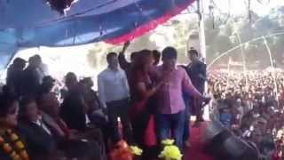Rajesh Hamal in Bardia with Manju poudel