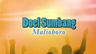 Lirik lagu Doel Sumbang - Malioboro