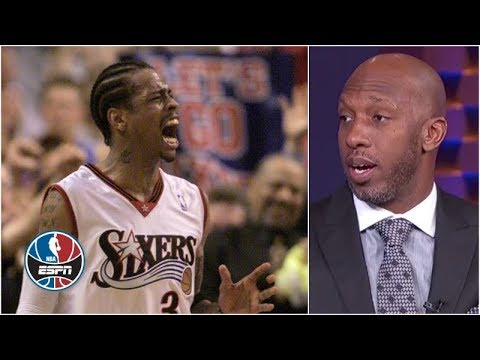 Allen Iverson was the player Chauncey Billups feared the most NBA Countdown