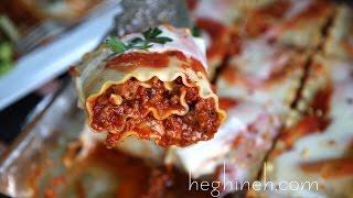Լազանյա - Lasagna Roll Ups Recipe - Heghineh Cooking Show