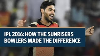 IPL 2016: How the Sunrisers Hyderabad bowlers made the difference