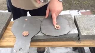 460 s&w vs 500 s&w penetration test part 3 AR 300 plate