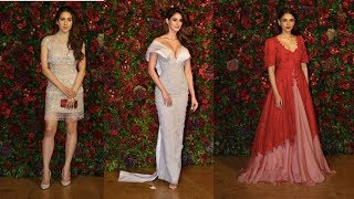 Bollywood Guests At Ranveer Deepika Reception - Latest BollyWood News