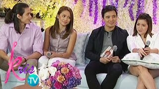Kris TV: Tommy, Miho, Angeline, and Erik's gift to each other