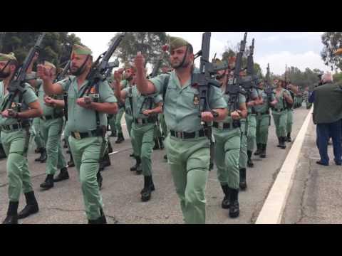 Desfile Legion Española 96 aniversario. Brigada de La Legion. Viator Almeria. 2016.
