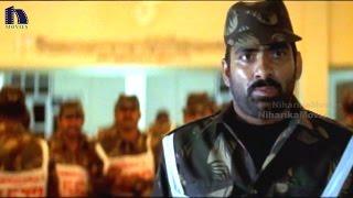 Police Officer Warns Ravi Teja Scene - Venky Telugu Movie Scenes
