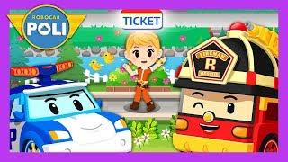 Transforming into a train! Let's run!! | English play for Kids | Robocar Poli Game