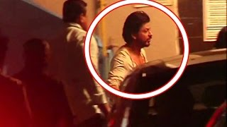 Shahrukh At Salman Khan's EID Party At His House Galaxy In Bandra