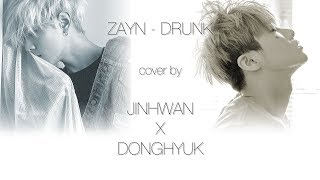 [iKON] 김진환 & 김동혁의 DRUNK lyric video (ZAYN - DRUNK cover by JINHWAN & DONGHYUK OF iKON)