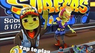 Subway Surfers Transylvania VS Arabia iPad Gameplay for Children HD #2