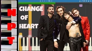 The 1975 - Change of Heart - Piano Tutorial - Instrumental Remix