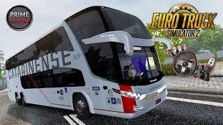 Euro Truck 2 - #MAPAEAABUS Ônibus 2 Andares Viação Catarinense Paradiso G7-1800 DD + G27